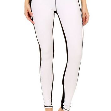 ABC  Two Tone ColorBlock Leggings
