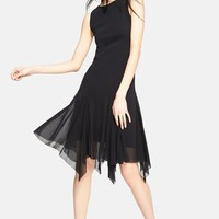 Handkerchief Hem Tulle Dress