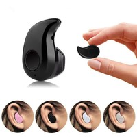 Mini Wireless in-ear Micro Earpiece Bluetooth Earphone cordless Headphone Blutooth Earbuds Hands free Headset For Phone iPhone 7