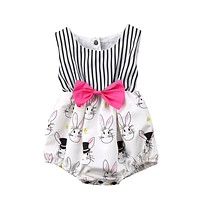 Mr. and Mrs. Bunny Romper