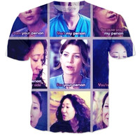 Greys Anatomy Person Shirt