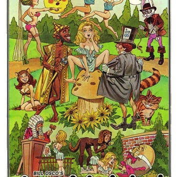 Alice in Wonderland: An X-Rated Musical Fantasy 11x17 Movie Poster (1976)