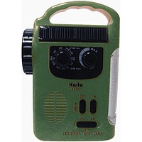 Dynamo Solar Powered Radio - Green