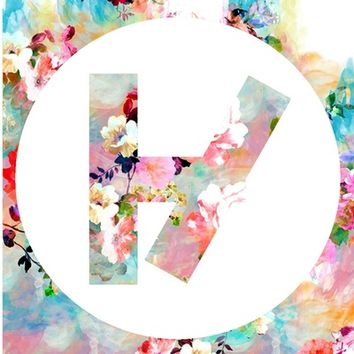 Floral twenty one pilots Art Print by Larissa Hoskins | Society6