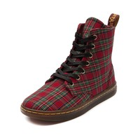 Womens Dr. Martens Hackney 7-Eye Boot in Red Green | Shi by Journeys
