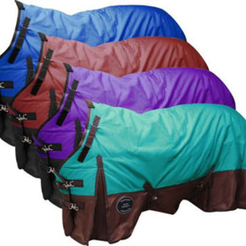 Saddles Tack Horse Supplies - ChickSaddlery.com Showman Perfect Fit 1200 Denier Turnout Blanket