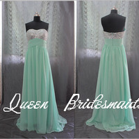 color prom dresses bridesmaid dresses Long Chiffon Dresses, cheap prom dress, prom dress, Long Bridesmaid Dresses, Long Prom Dresses,