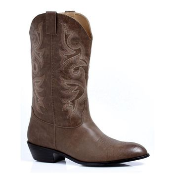 Ellie Shoes E-129-Clint 1 Heel Cowboy Boot Men Sizes