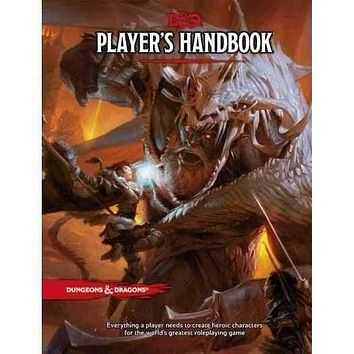 Dungeons & Dragons Player's Handbook: Everything a Player Needs to Create Heroic