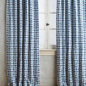 Arima Geometric Curtain by Anthropologie