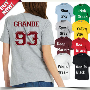 Ariana Grande Shirt Grande 93 Tshirt Unisex, male and female S-XXL
