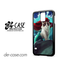 Little Mermaid Grumpy Cat For Samsung Galaxy S5 Case Phone Case Gift Present