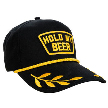 Rowdy Gentleman Captain's Orders Rope Hat