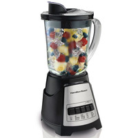 700-Watt Kitchen Countertop Blender With Dishwasher Safe Glass Pitcher Jar