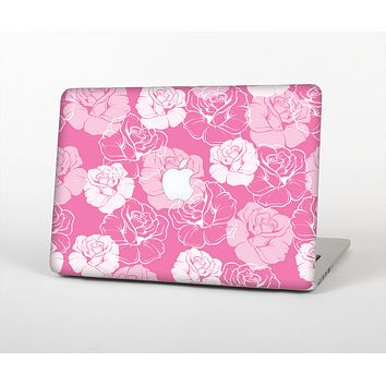 "The Subtle Pinks Rose Pattern V3 Skin Set for the Apple MacBook Pro 13"" with Retina Display"