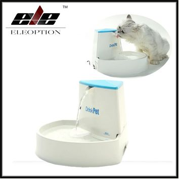 Blue High Quality 2.5L Automatic Electric Cat Dog Pet Water Fountain Drinking Bowl Drinker Filter
