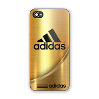 Cheap Best Adidas Logo Gold Design Art Hard Case Cover for iPhone 6/6s 6s Plus 7