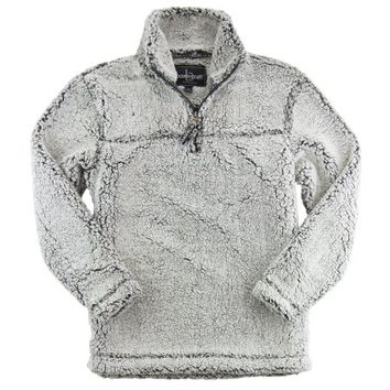 Hometown Clothing SET: Boxercraft Sherpa 1/4 Zip Pullover and Hometown Clothing Garment Guide, Youth Size Smokey Grey-S - Walmart.com
