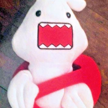 """Ghostbusters White/Red No Ghost Logo Domo 9"""" Plush Stuffed Toy Doll"""