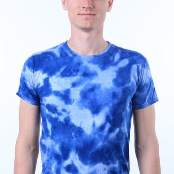 Custom Tie Dye Personalized Sports Team Colors Customized Wedding Party T-shirt
