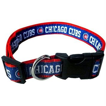 Chicago Cubs Pet Collar