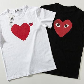 Short Sleeve Stylish Couple Casual T-shirts [2162532515894]