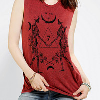 Urban Outfitters - Truly Madly Deeply Cosmo Skeleton Muscle Tee