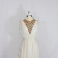 1960's Vintage Wedding Dress Designer by VintageFrocksOfFancy
