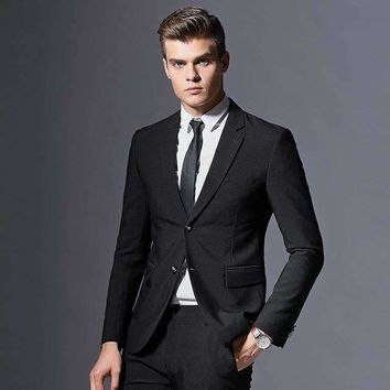 Mens 3 Piece Double-Breasted Suit