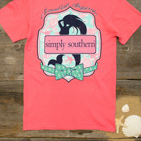 Mermaid Kisses Tee | Simply Southern