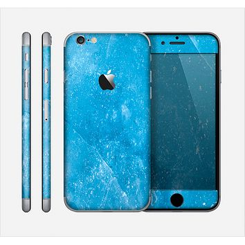 The Blue Ice Surface Skin for the Apple iPhone 6