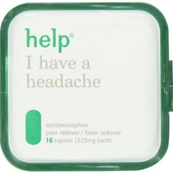 Help Remedies Help I Have A Headache, 16 Count