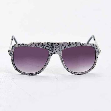 Jeepers Peepers Mason Square Sunglasses- White One
