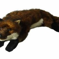 "26"" Life-Like Extra Soft and Cuddly Plush Red Fox Stuffed Animal Hug"