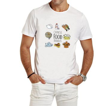 Chinese Food Doodle - Funny Tee Shirt