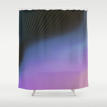 Ever So Slightly Shower Curtain by duckyb
