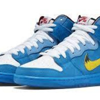 Nike Dunk High Premium SB Photo Blue/ Tour Yellow - White