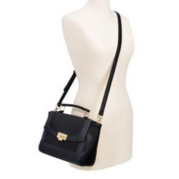 Women's Satchel Clasp Closure Black Merona™