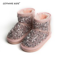 Rhinestone Toddler Boots