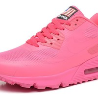 "Nike Air Max 90 Flag ""Pink"" Women Running Sneaker"