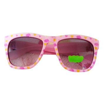 Polarized Sunglasses Baby Banz for Kids Children Toddler Shades Goggles UV 400 Protection Glasses Style Colorful Heart
