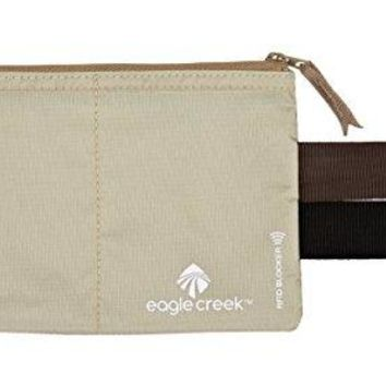 Eagle Creek RFID Blocker Hidden Pocket Tan One Size
