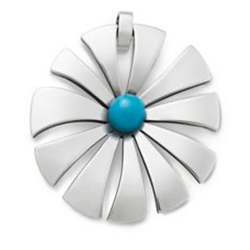 Sunburst Blossom with Turquoise Pendant | James Avery
