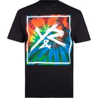 YOUNG & RECKLESS Tie Dye Square Mens T-Shirt
