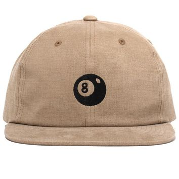 8-Ball Strapback Cap Tan