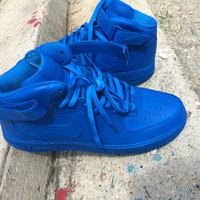 Arrival Blue Nike Air Force 1