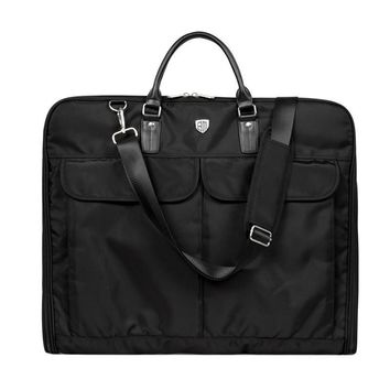 Waterproof Black Nylon Garment Bag With Handle