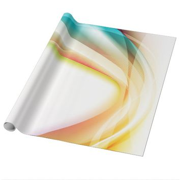Abstract Swirl 2 Wrapping Paper