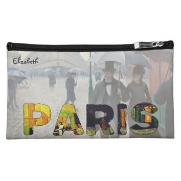 Paris by Van Gogh and Caillebotte Cosmetic Bag