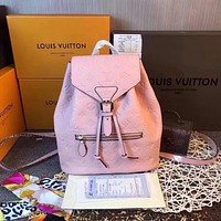 LV Louis Vuitton WOMEN'S MONOGRAM LEATHER Sperone BACKPACK BAG